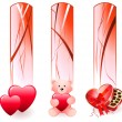 Royalty-Free Stock Vector Image: Valentine\'s Day Banners