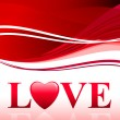 Valentine's Day Love Background — Vector de stock  #6509494