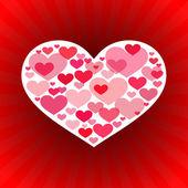Valentine's Day Love Background — Stockvektor