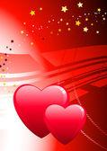 Valentine's Day Love Background — Vecteur