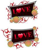 Valentine's Day Love Background — Stock Vector