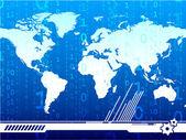Global digital background — Stock Vector