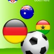 2010 Group D World Cup — Stock Vector #6510684
