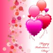 Royalty-Free Stock Vectorielle: Happy Valentine\'s Day Card
