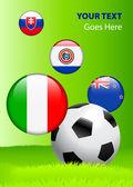 2010 年集团 f 世界杯 — 图库矢量图片