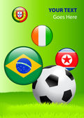 Copa do mundo de 2010 grupo g — Vetorial Stock