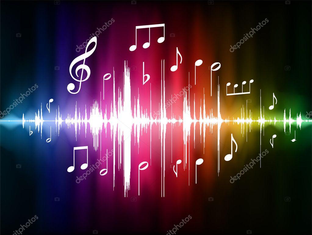 Notas Musicales Del Color