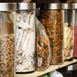 Traditional Chinese herbal medicines — ストック写真 #6648822