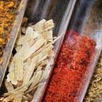 tradiční čínské bylinné léky — Stock fotografie