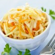Stock Photo: Bowl of coleslaw