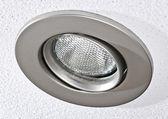 Pot light in ceiling tile — Stock Photo