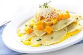 Ravioli dinner — Stock Photo