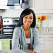 Woman in kitchen — Foto de Stock