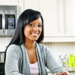 Woman in kitchen — Stock Photo #6651179
