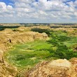 Stock Photo: Badlands in Alberta, Canada