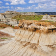 Badlands in Alberta, Canada — 图库照片