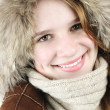 Happy winter girl — Stock Photo