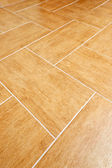 Ceramic tile floor — Stock Photo