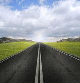 Open road — Foto Stock