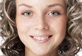 Smiling beautiful woman — Stock Photo