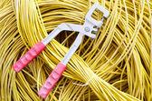 Aracı ve kablo — Stok fotoğraf
