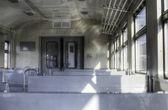 内部的火车 — 图库照片