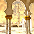 Stock Photo: Sheikh Zayed Mosque in Abu Dhabi City