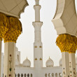 Sheikh Zayed Mosque in Abu Dhabi City — 图库照片