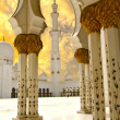 Sheikh Zayed Mosque in Abu Dhabi City — Stok fotoğraf