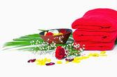 スパの花の背景 — ストック写真