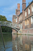 Punting in Cambridge — Stock Photo