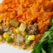 Sweet Potato Shepherds Pie - Stock Photo