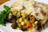 Vegan Shepherds Pie — Stock Photo