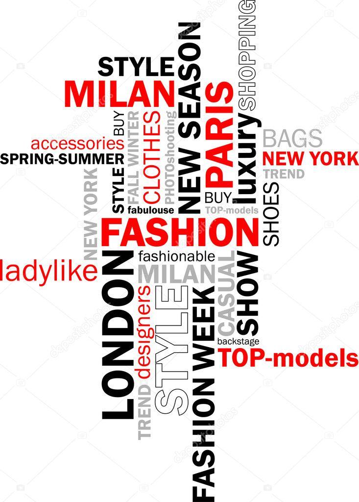 Слова связанный с модой