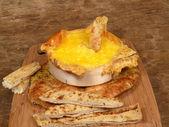 Rustik fırın peynir — Stok fotoğraf