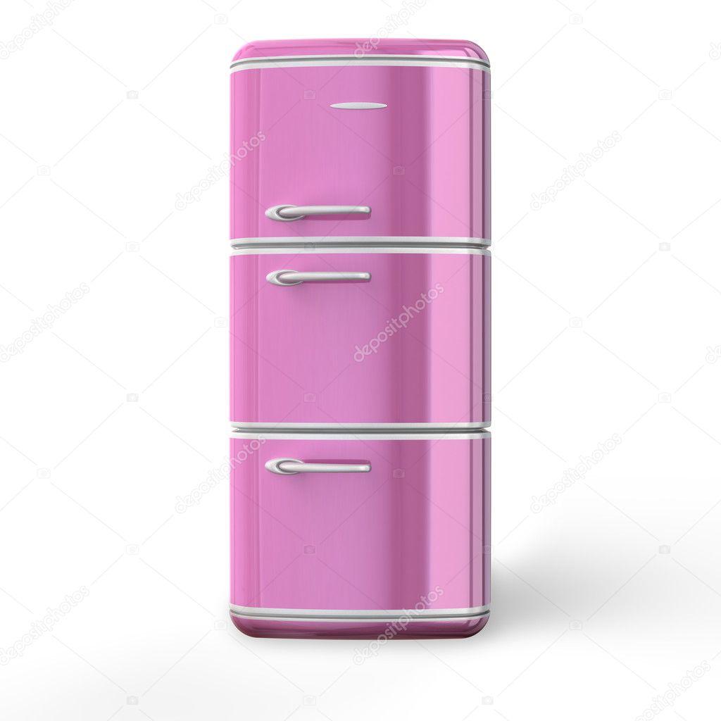 rose r tro au frigo photographie strejman 5971614. Black Bedroom Furniture Sets. Home Design Ideas