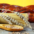 Stock Photo: Wheat and bread
