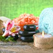 Spa accessories  for massage and beauty — Foto Stock