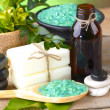 Spa accessories  for massage and beauty - Stock Photo