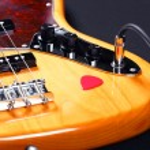 低音吉他 — 图库照片