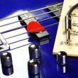 Bass guitar — Stock Photo