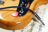Elektrická kytara — Stock fotografie