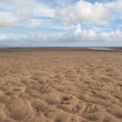 Sand and clouds — Stock Photo
