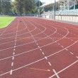 Stock Photo: University running track