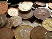 UK COINS — Stock Photo