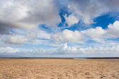 Sand and sky — Stock Photo