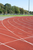 University running track — Stock Photo