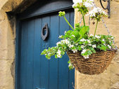 English style front door — Stock Photo