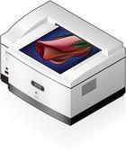 Imprimante laserjet — Vecteur