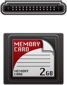 Carte mémoire photo — Vecteur